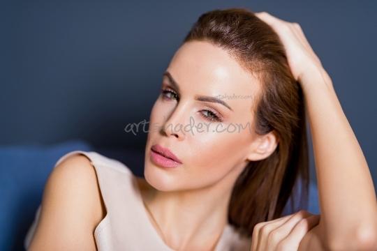 Portrait of a elegant young woman